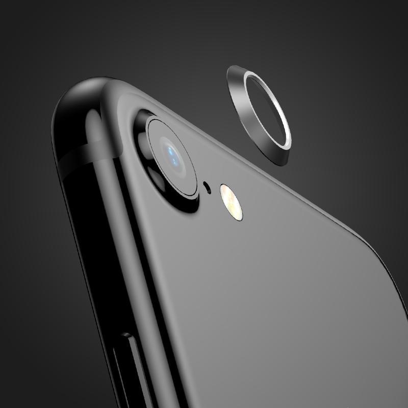 Baseus Metal Lens Protection Ring Anti-kras Rear Camera Lens Circle Protector voor de iPhone 7
