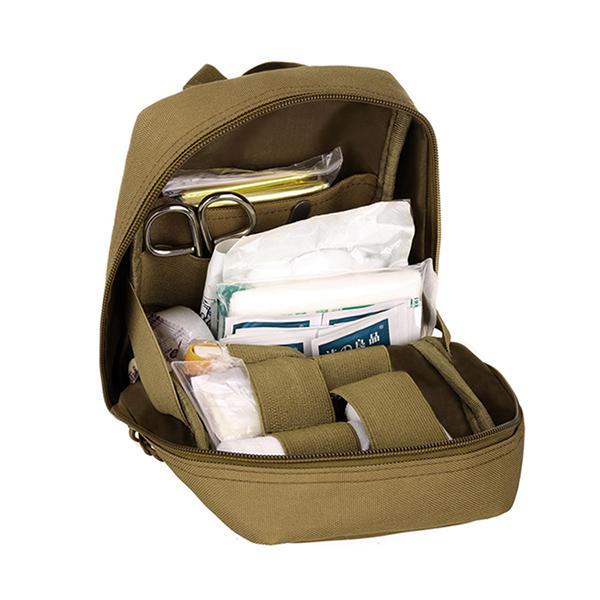 Protector Plus Men Nylon Medical Kit Outdoor Emergency Package Medical Handbag Waist Bag