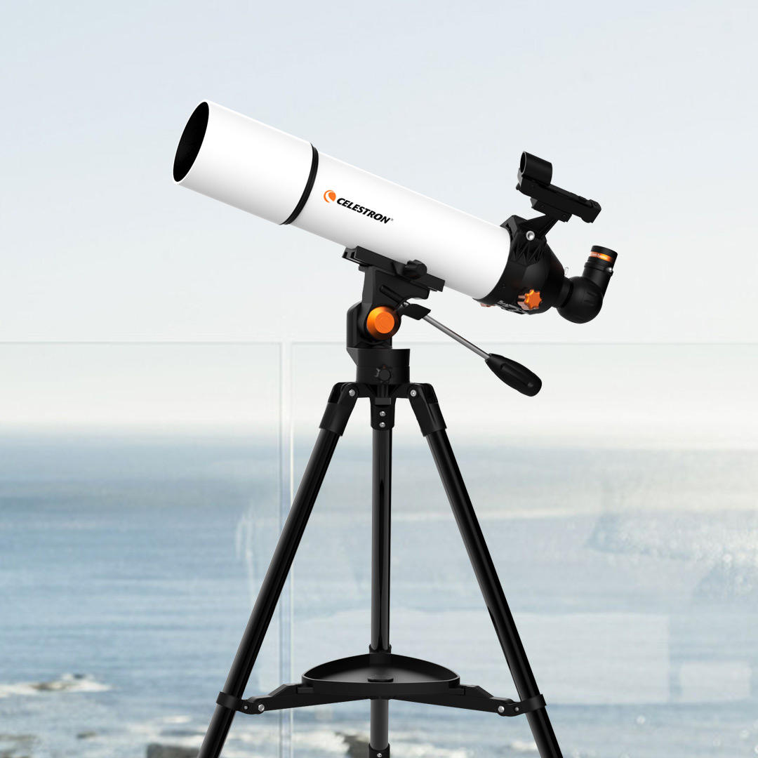 Xiaomi SCTW-80 HD Zoom Refractive Astronomical Telescope 80mm Caliber Red Dot Finder High Magnification Space Monocular