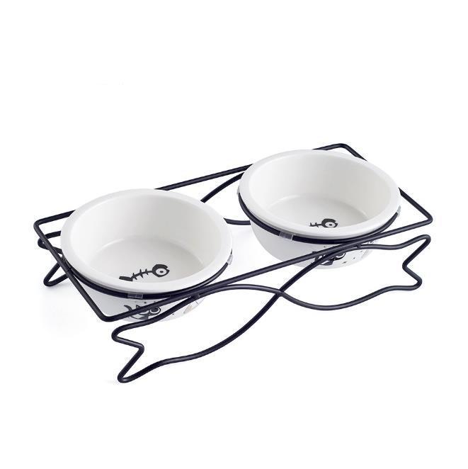 Керамический Чаша для домашних животных для миски для еды и воды