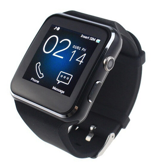Bakeey X6 Curvo HD Smart Watch Fotocamera Scheda SIM Chiamata Monitoraggio del Sonno App Integrata per iOS Android