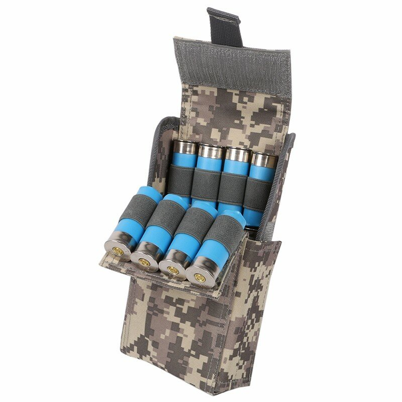 12G Hunting Waterproof Anti-corrosion Shells Package CS  Portable 25-Hole Bullet Bags