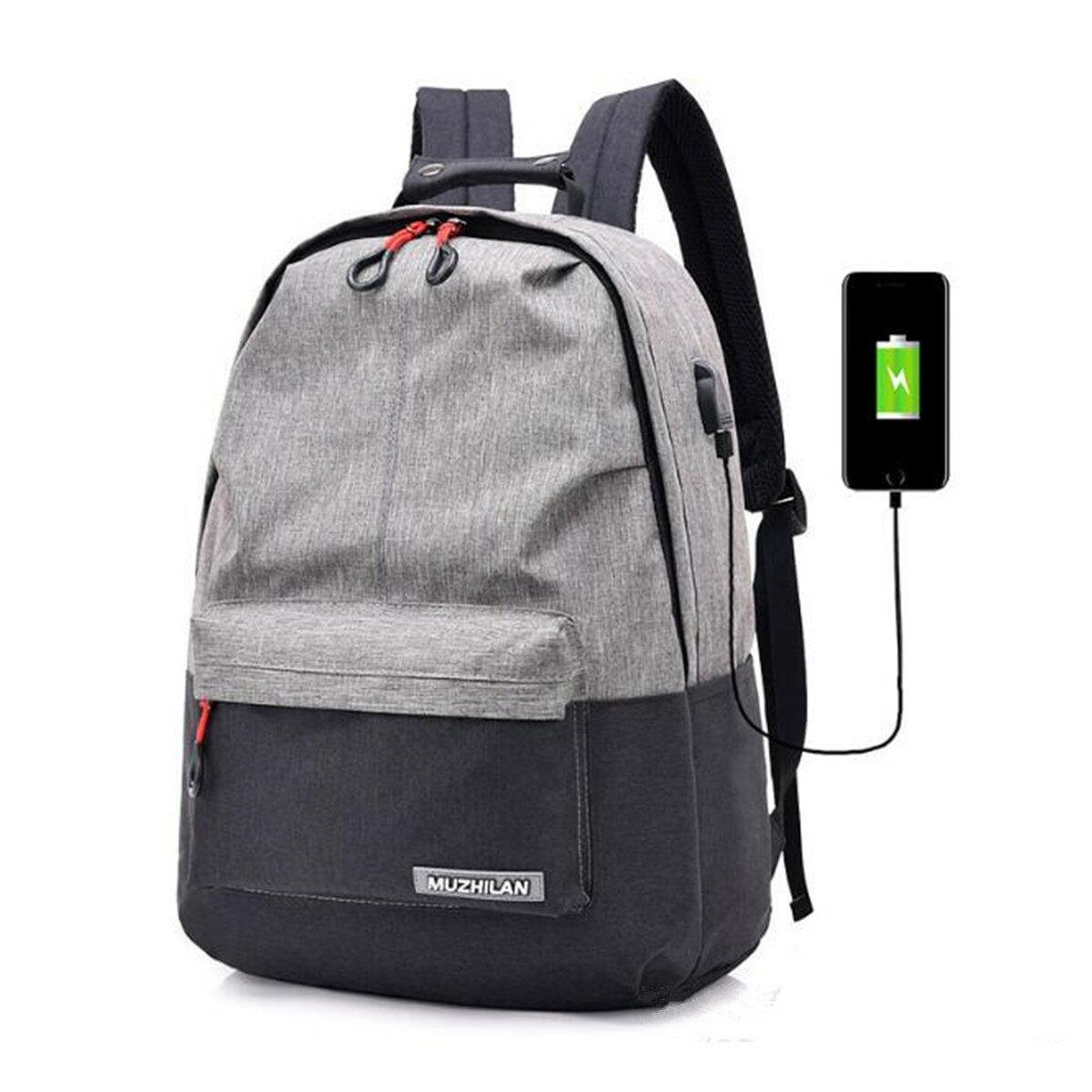 25L Outdoor USB Anti-Theft Laptop Rucksack Reise Business Schule Tasche Rucksack