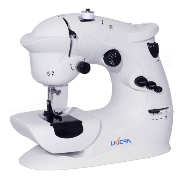 7 Stitches Mini Electric Overlock Sewing Machine Multifunction Portable Double Stitch Sewing Tool