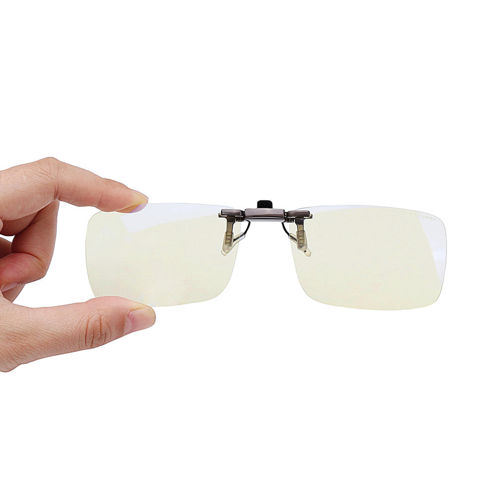 TS Clip On Sunglasses Anti Blue-ray Glasses Eyes Protection 110° Rotary For Computers Phones Users From Xiaomi Youpin