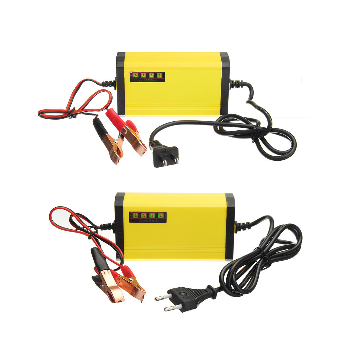 12V 2AH-20AH Smart Automatic ABS Batteria Caricabatterie US / EU Plug For Car Motorcycle