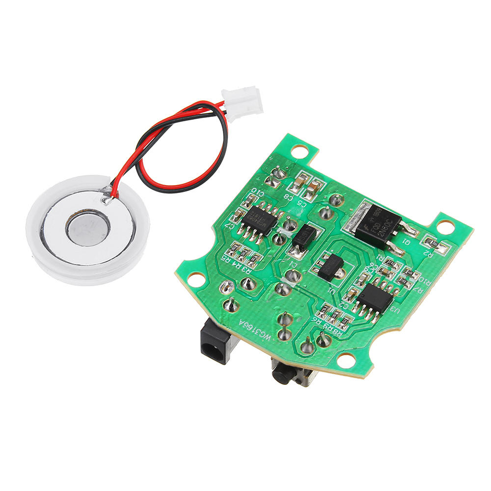 Geekcreit® 20mm 113KHz Ultrasonic Humidifier Mist Maker USB Ceramic Atomizer Transducer Humidified Plate Accessories + PCB Module D20mm