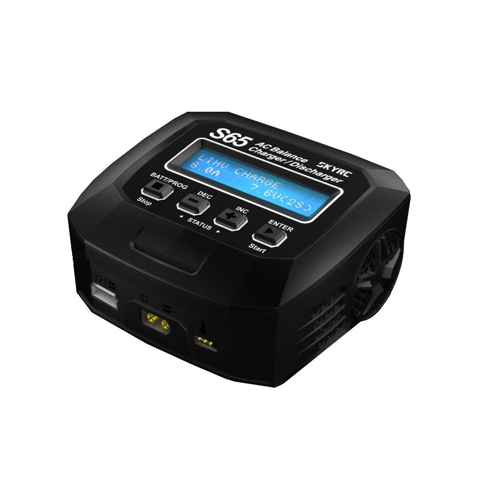 SKYRC S65 65W 6A Wyładowarka ładowarka AC dla akumulatora 2-4S Lipo