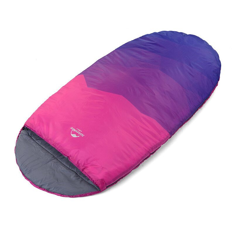 Naturehike Outdoor Sleeping Bag Cotton Mummy Single Sleep Pad Adult Noon Break Equipment