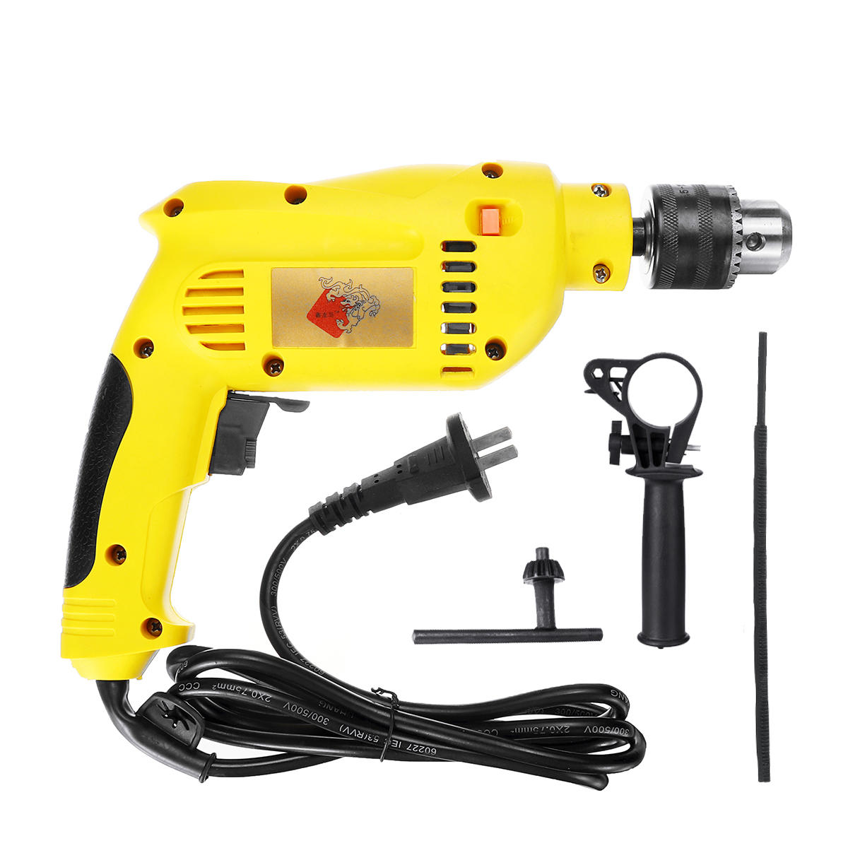 1880W 3800rpm Electric Impact Drill Wrench 13mm Chuck Brushless Motor Power Tools