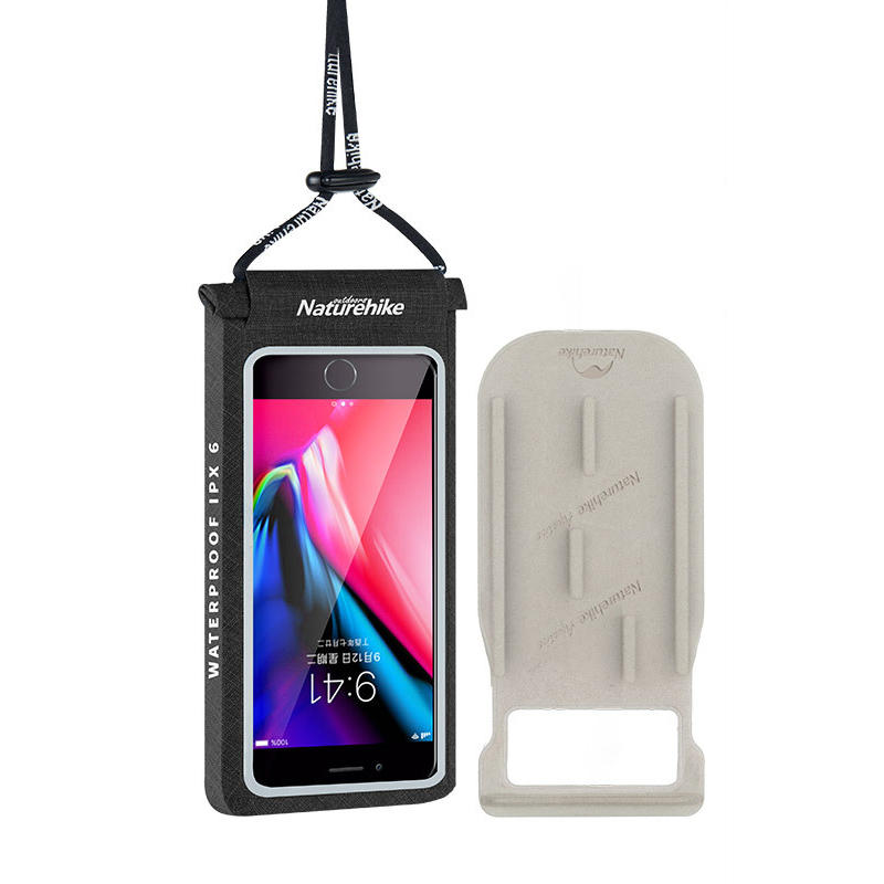 Naturehike NH18F005-S 6 Inch IPX6 Waterproof Cell Phone Case Holder Smartphone Bag Touch Screen For iPhoneX 6 6S 7 8 Plus