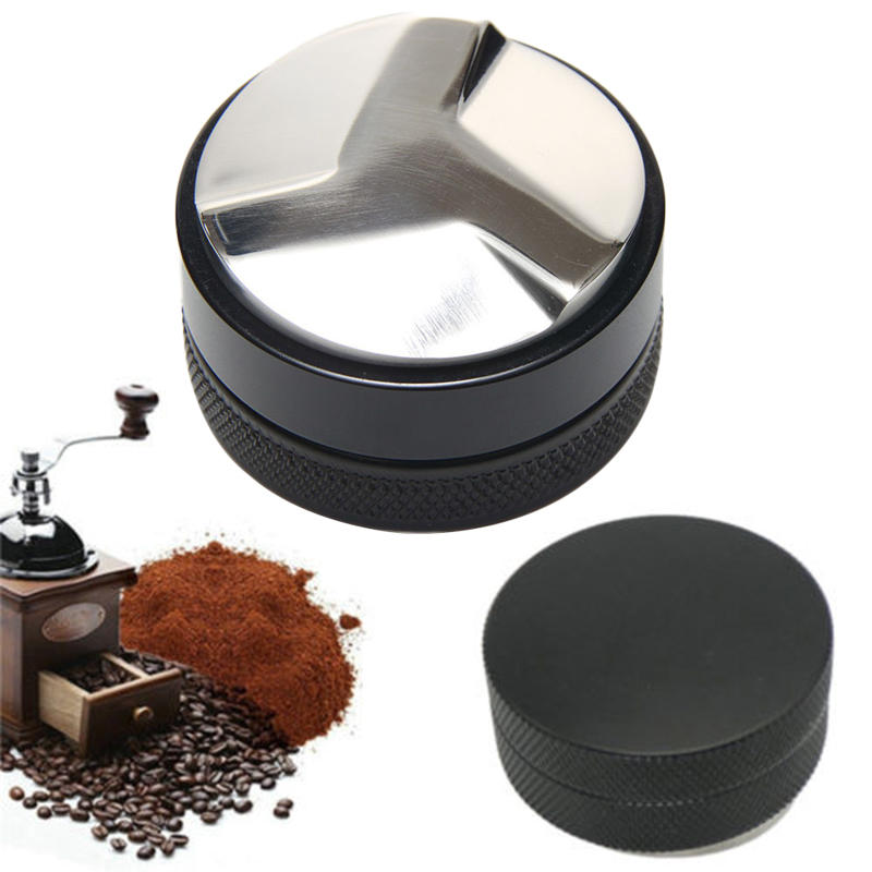 52mm Espresso Powder Distributor W/Three-Angled-Slopes Base Coffee Tamper Coffee Filter