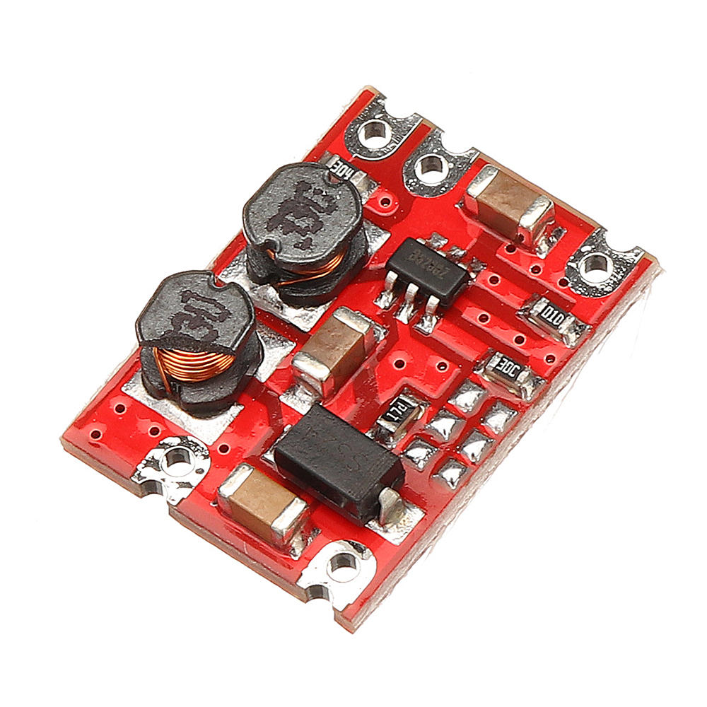 5pcs DC-DC 3V-15V to 5V Fixed Output Automatic Buck Boost Step Up Step Down Power Supply Module For Arduino
