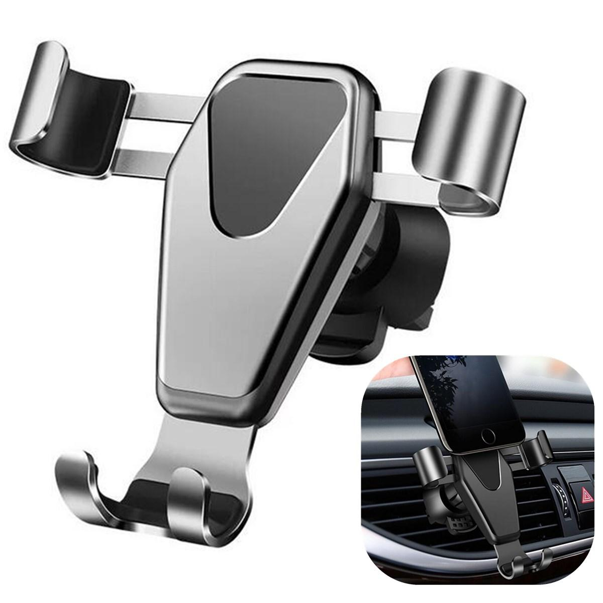 """Gravity Linkage Automatical Lock 360° Rotation Car Mount Air Vent Holder for Xiaomi Mobile Phone 4.0 - 6.0"""""""