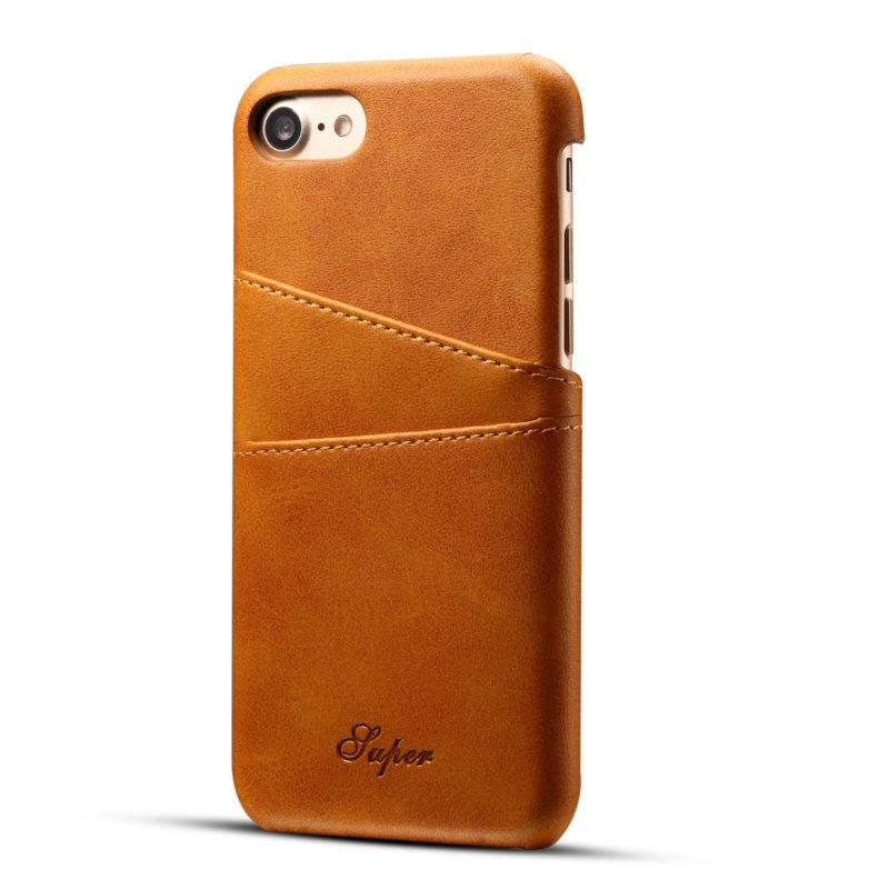 """Premium Cowhide Leather Card Slot Protective Case For iPhone 6s Plus/6 Plus 5.5"""""""