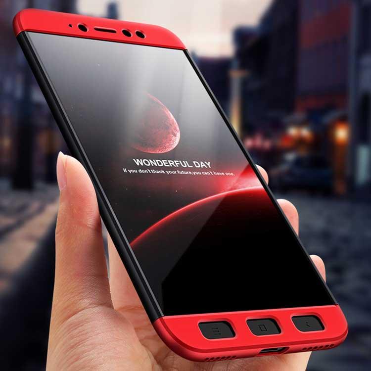 Bakeey ™ 3 en 1 Doble inmersión 360 ° Protección total Caso Para Xiaomi Redmi Note 5A Prime/Redmi Y1