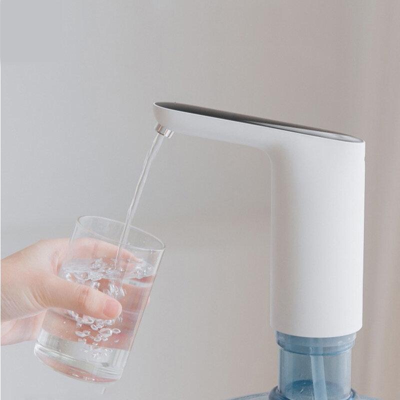 [2019 NUEVO] Bomba de agua con interruptor mini táctil automática original de 3LIFE desde XIAOMI Bomba de agua con dispensador eléctrico inalámbrico recargable Youpin con cable USB