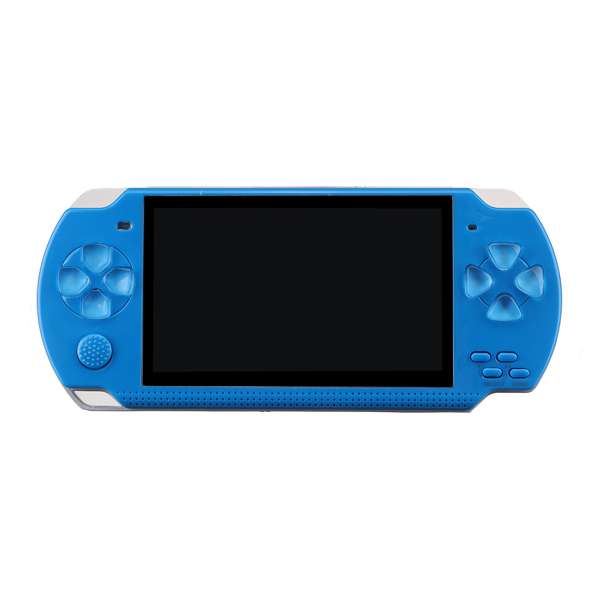 Built In 10000 Games 32 Bit 4.3inch 8GB Portable Video Handheld Blue-International Player Game Console