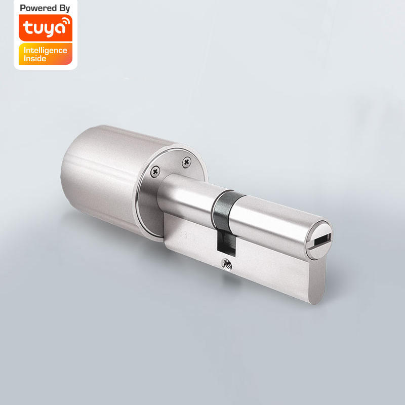 Vima Smart Lock Core Cylinder Tuya Intelligent Security Door Lock 128-Bit Encryption With Keys Connected to Tuya Smart Home System