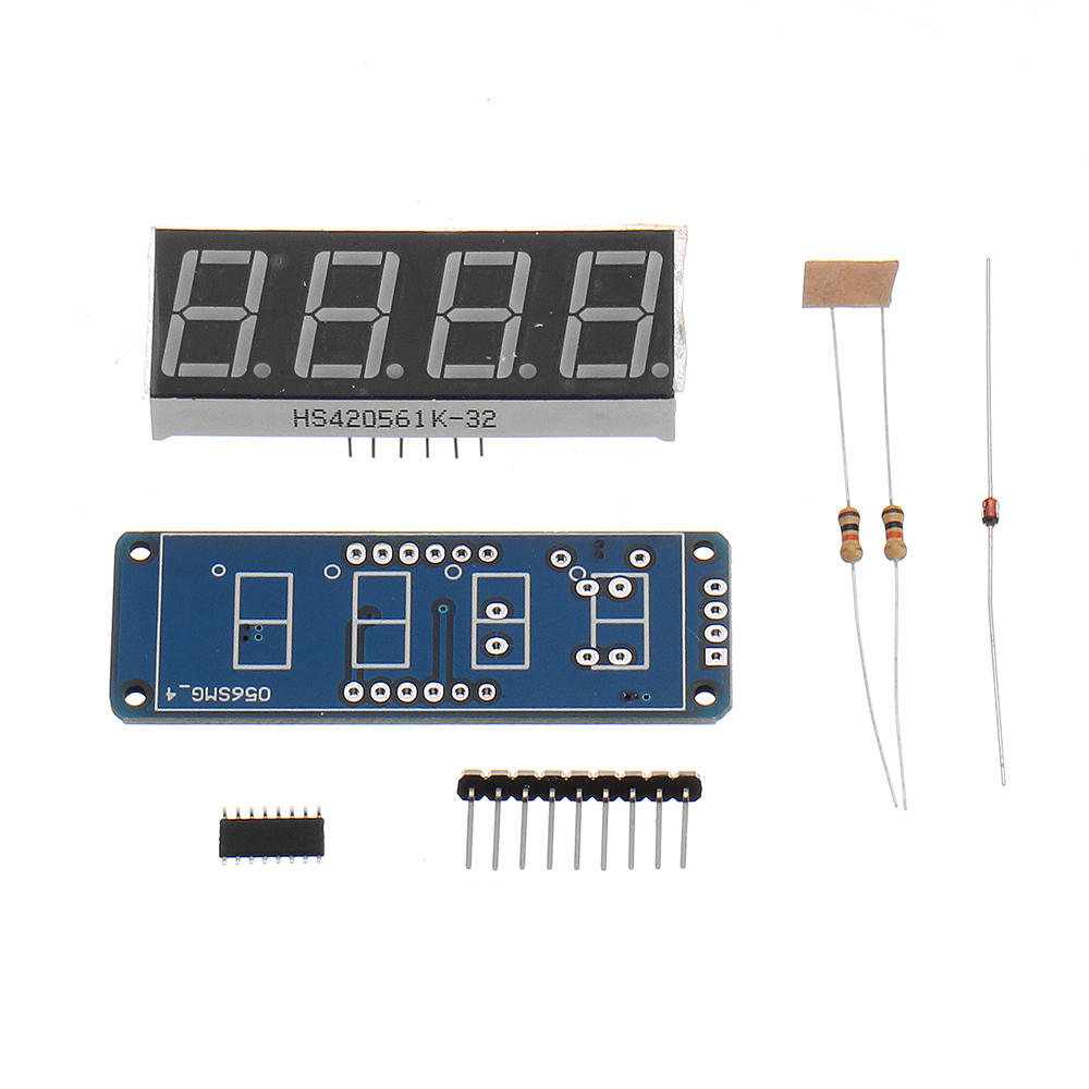 0.56 Inch Digital Tube DIY Kit TM1650 Four-digit LED Digital Tube Display Module For