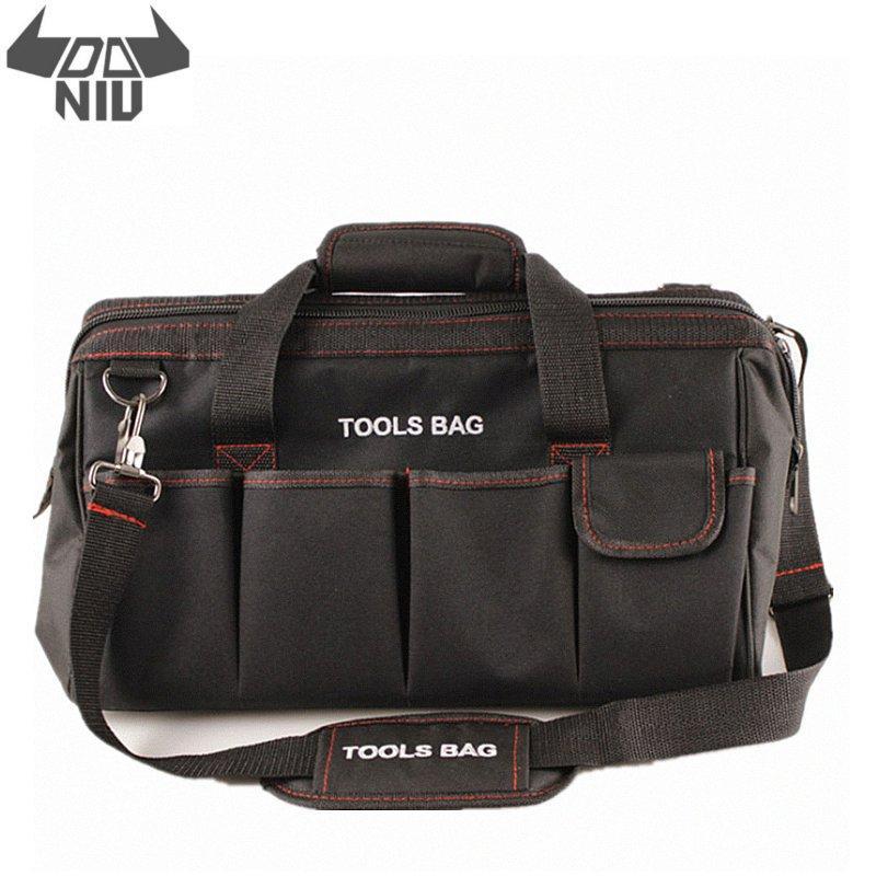 Oxford Cloth Bag Kit Multi-Function Repair Electrician Shoulder Bag Large Thick Tool Bag Work Bag