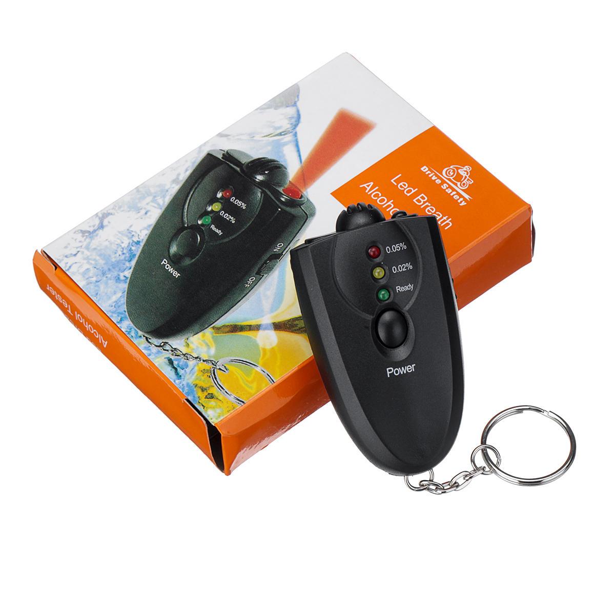 Mini testador portátil de álcool soprado Tipo testador de exibição digital de veículo LED