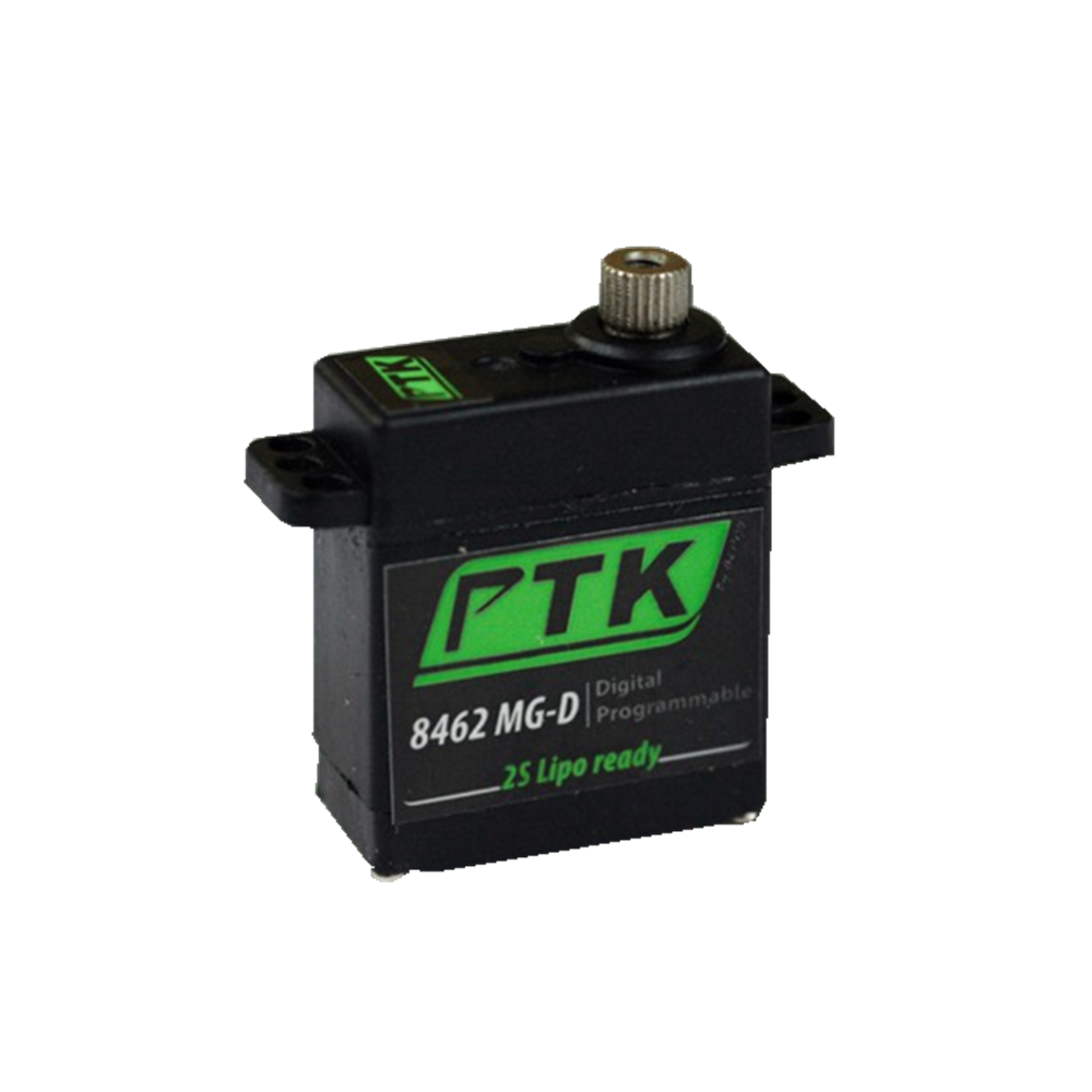 PTK 8462 MG-D 16g Mini Metal Digital Steering Gear Servo for RC Airplane Fixed Wing Helicopter