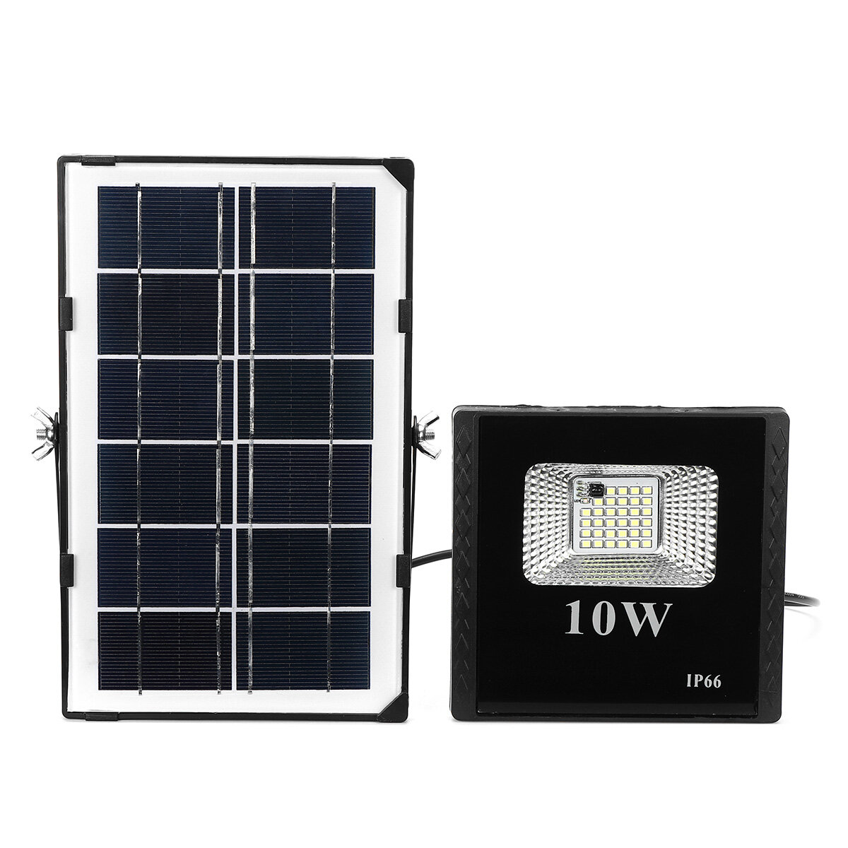 64 LED Solar Floodlight Security Outdoor Garden Modern Flood Light Wall Lamp