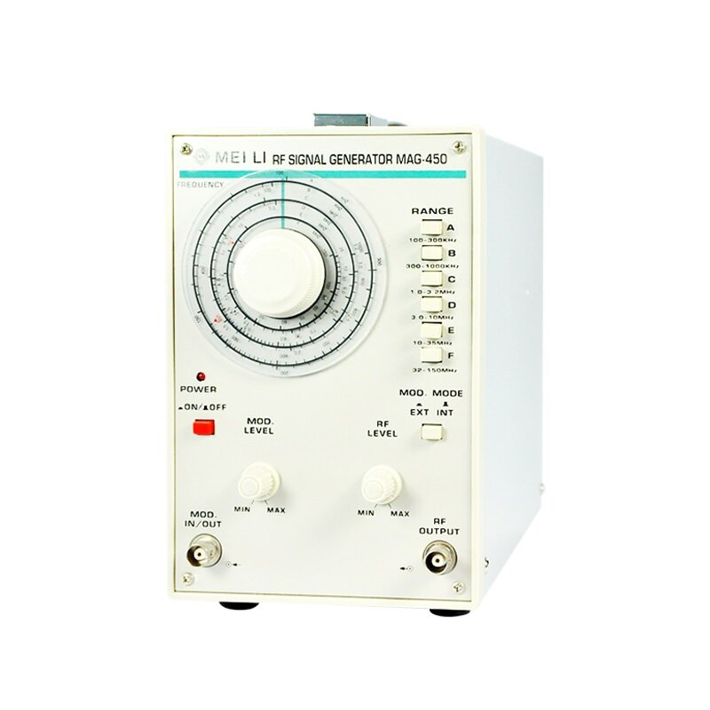 MAG-450 High Frequency Signal Generator 100KHz-150MHz with Frequency Counter 150MHz RF Digital Signal Generator