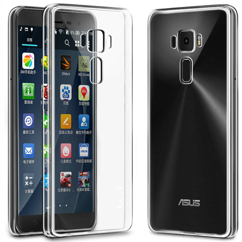 BAKEEY Crystal Clear Transparent Ultra-thin Soft TPU Protective Case for ASUS Zenfone 3 ZE552KL
