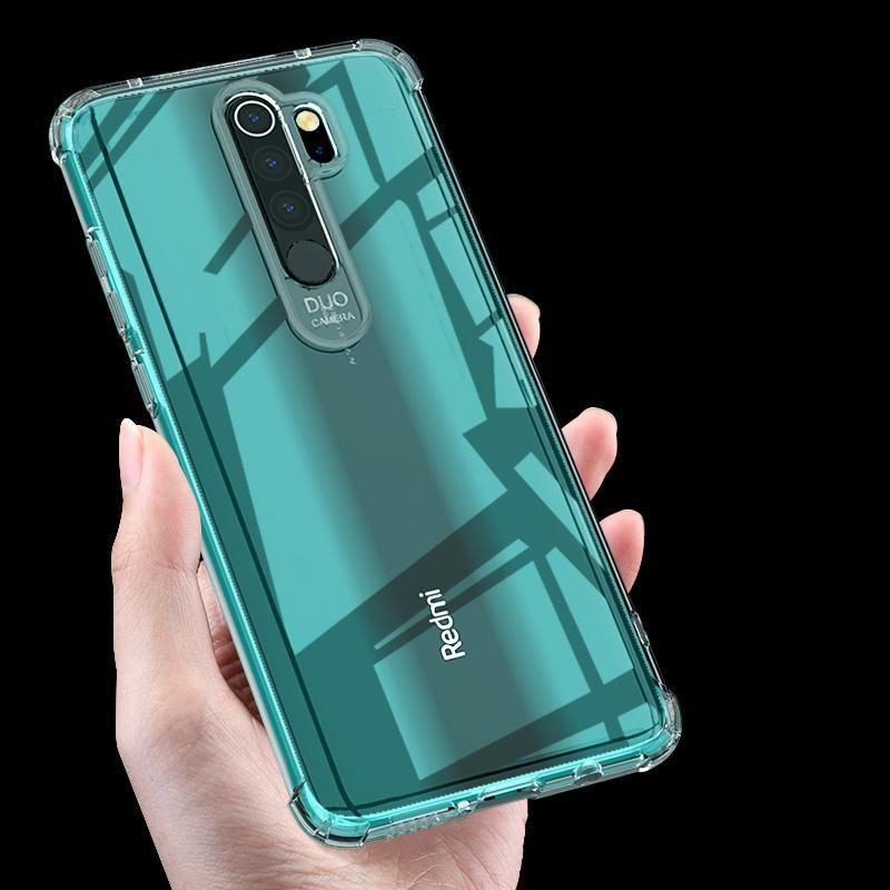 Bakeey Air Bag Shockproof Transparent Soft TPU Protective Case for Xiaomi Redmi Note 8 Pro