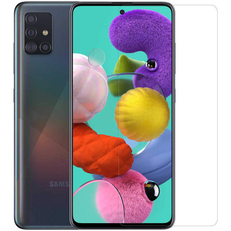 Nillkin Super Clear Anti-scratch Soft Displaybescherming voor Samsung Galaxy A51 2019