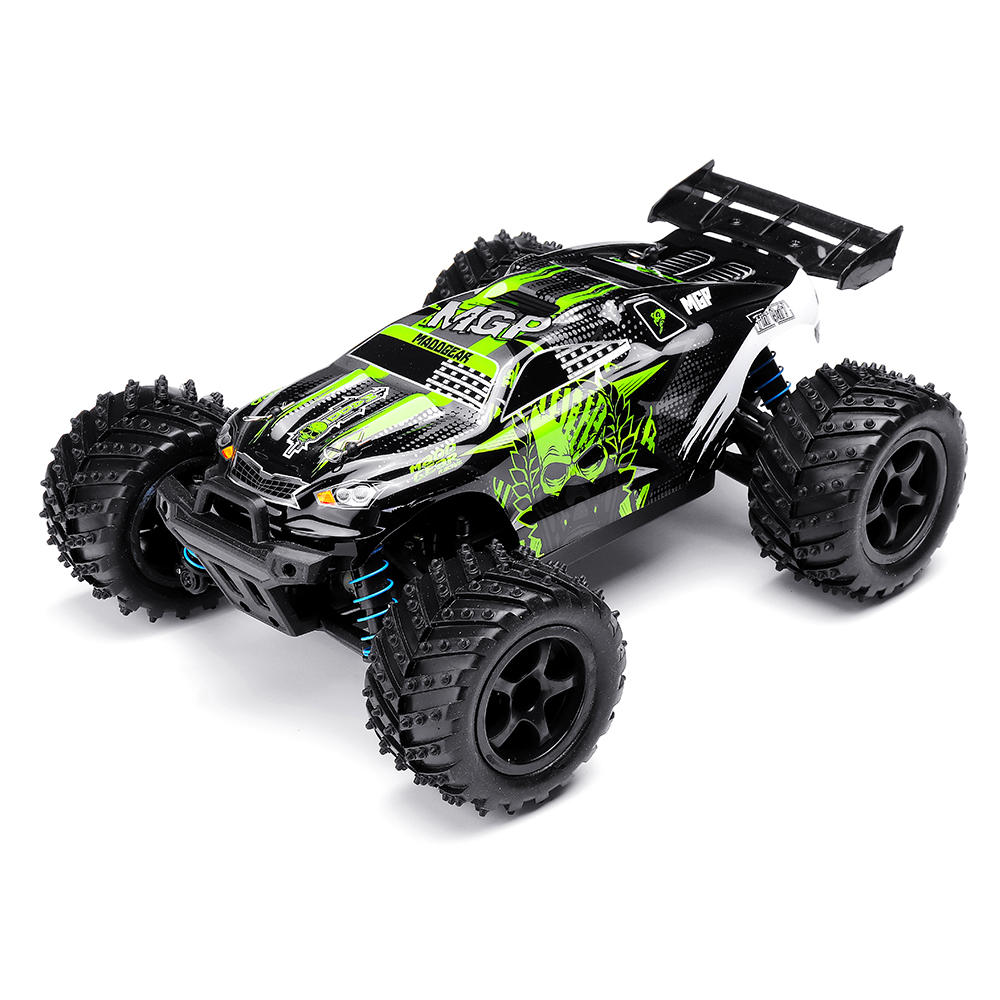 Grazer Toys 12004 Tempest 1/18 2.4G Waterproof High Speed 40km/h The Hammer Green RC Car Vehicle Models