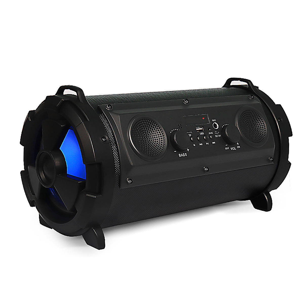 Built-in 2000mAh Li-battery 15W Wireless Bluetooth Speaker with FM Radio/AUX Input/TF Card Function