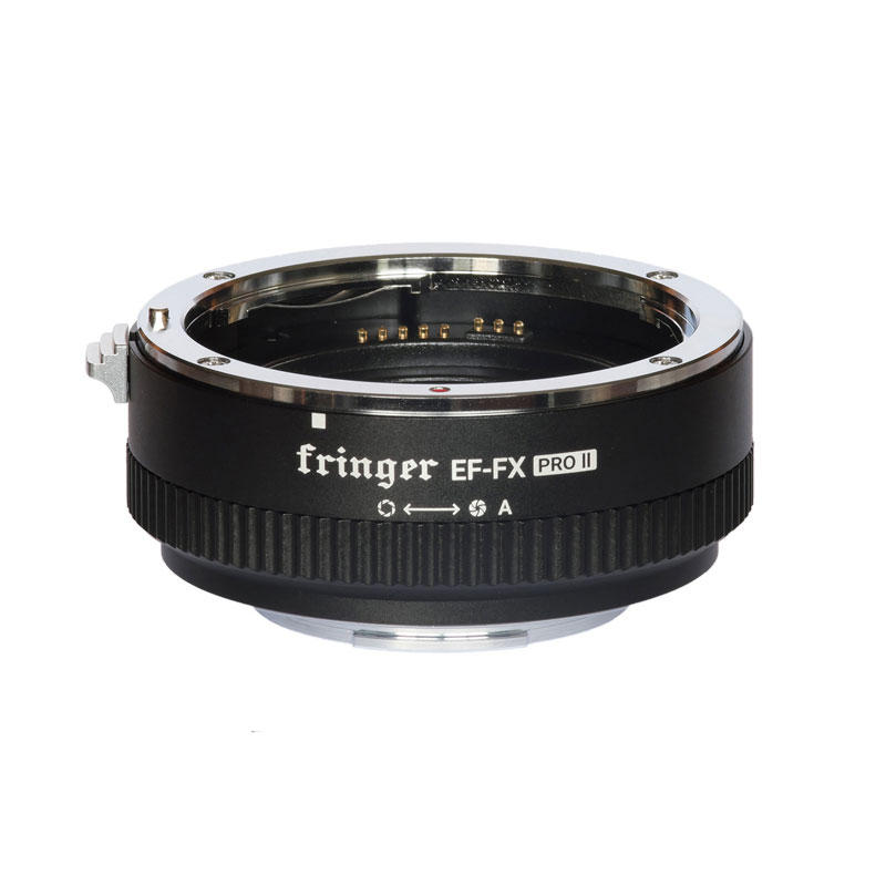Fringer EF-FX2 Pro II Auto focus Mount Lens Adapter Built-in Electronic Aperture for Canon EOS for Sigma Lens to for Fujifilm FX Camera