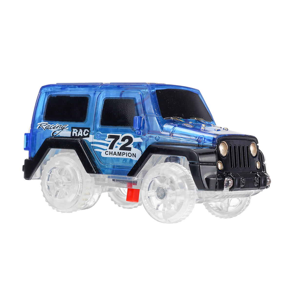 Electric Toys Car Vehicle For Racing Track Rail With LED Flashing Light Kids Gift
