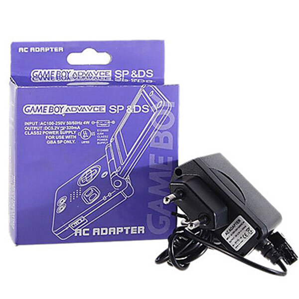 Universele lichtnetadapter voor GBA SP & NDS 100-250V