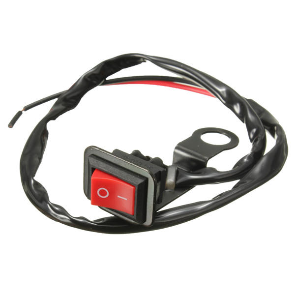 Motorcycle ATV Quad Bike Headlight On / Off Switch Filtre miroir arrière