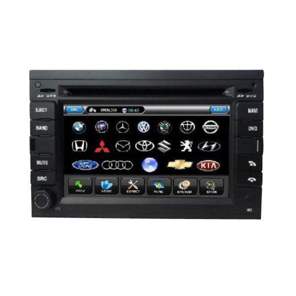 6 Inch Car DVD Player with Digital Screen+Built-in GPS+RDS For VW PASSAT B5