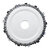 Drillpro 4-1/2 Inch Grinder Chain Disc 22mm Arbor 13T Wood Carving Disc 115mm For 115 Angle Grinder