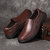 Menico Men Casual Business Daily Soft Walking Leather Oxfords