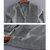 INCERUN Hombres Casual Manga larga con botones Abajo Retro Llanura dobladillo curvo Camisetas