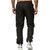 Männer lange Sporthose Slim Fit Trainingsanzug trainieren Gymnastik-Jogginghose
