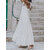 Women A-Line Ruffle Low Cut Sleeveless Maxi Swing Dress