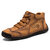 Homens Vintage Hand Stitching Soft Business Casual Ankle Boots