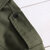 Herren Military Style Eplaulet Kurzarm Solid Color Shirts