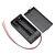 2 slots AA batterijbox Batterijhouderkaart met schakelaar voor 2 x AA-batterijen Doe-het-zelf zaak