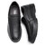 Hombre Casual Business Comfy Piel Genuina Slip On Oxfords
