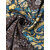 Plus Size Floral Print Long Sleeve Patchwork Dress with Pockets