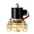 1/2 3/4 1 Inch 12V Electric Solenoid Valve Pneumatic Valve for Water Air Gas Brass Valve Air Valves